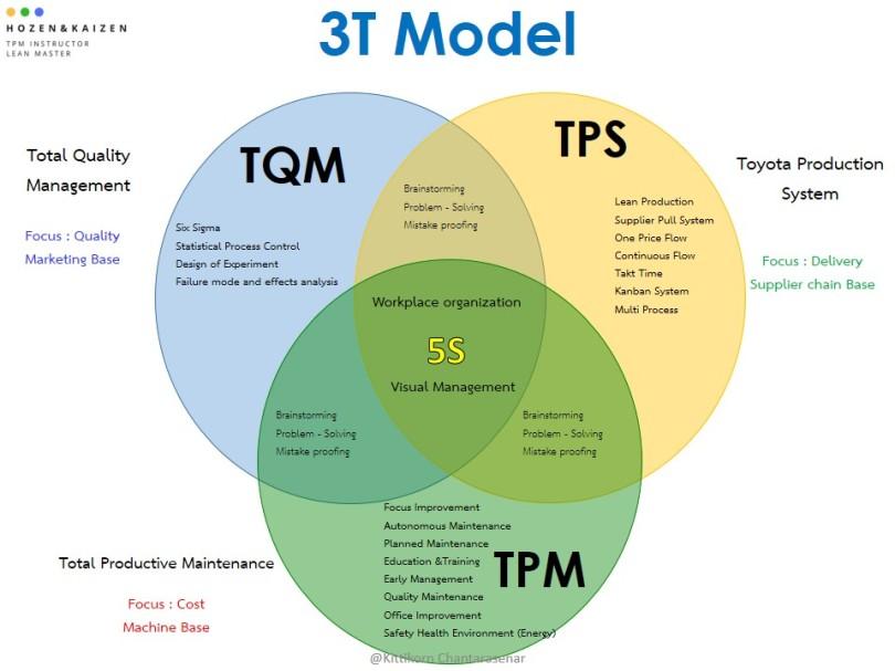 3T model